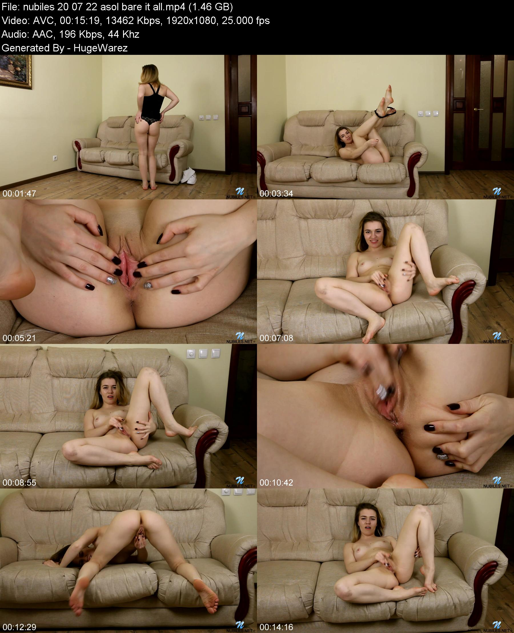 Nubiles 20 07 22 Asol Bare It All XXX 1080p MP4-KTR