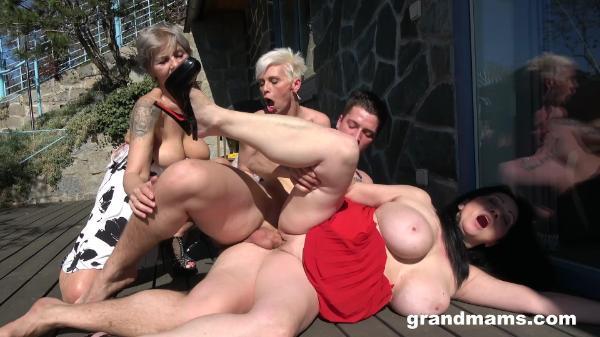 Grand Mams – Three Rich Ladies Craving For Cum