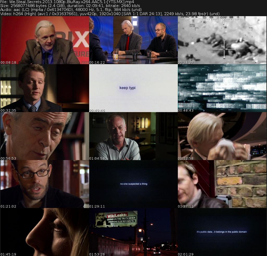 We Steal Secrets: The Story of WikiLeaks Movie