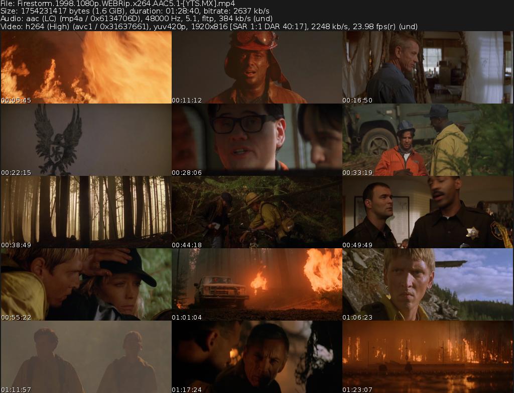 Firestorm Movie