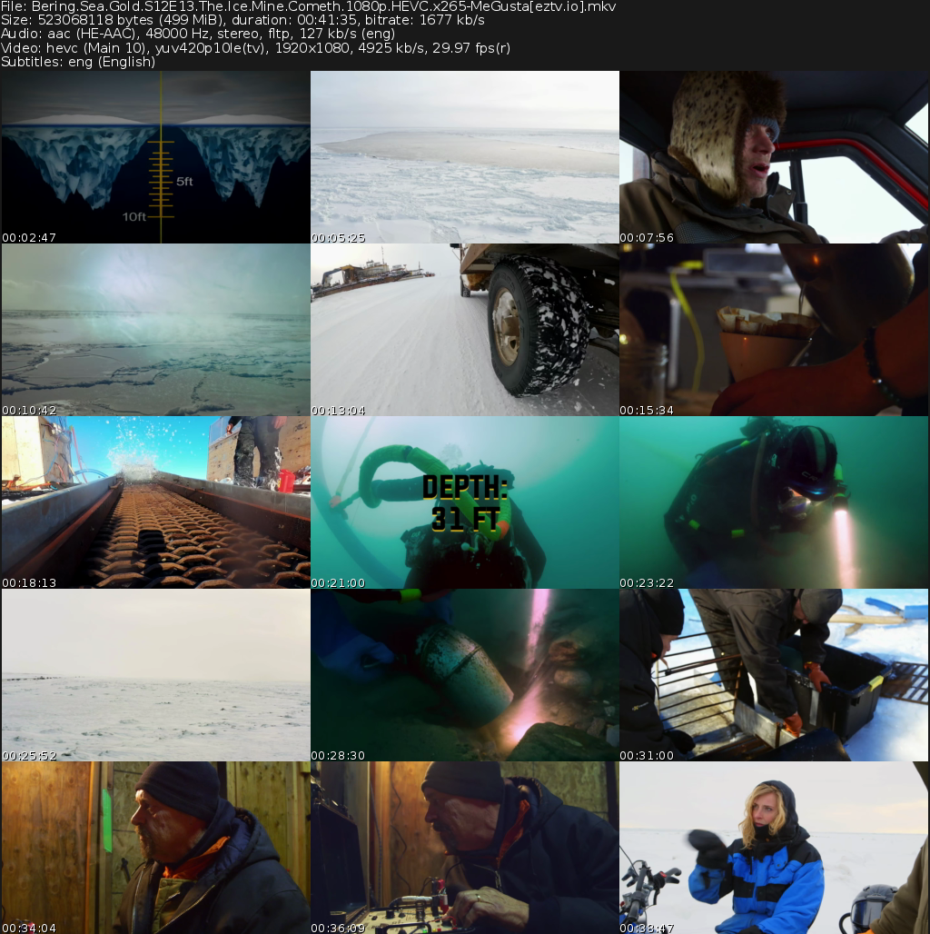Bering Sea Gold Movie