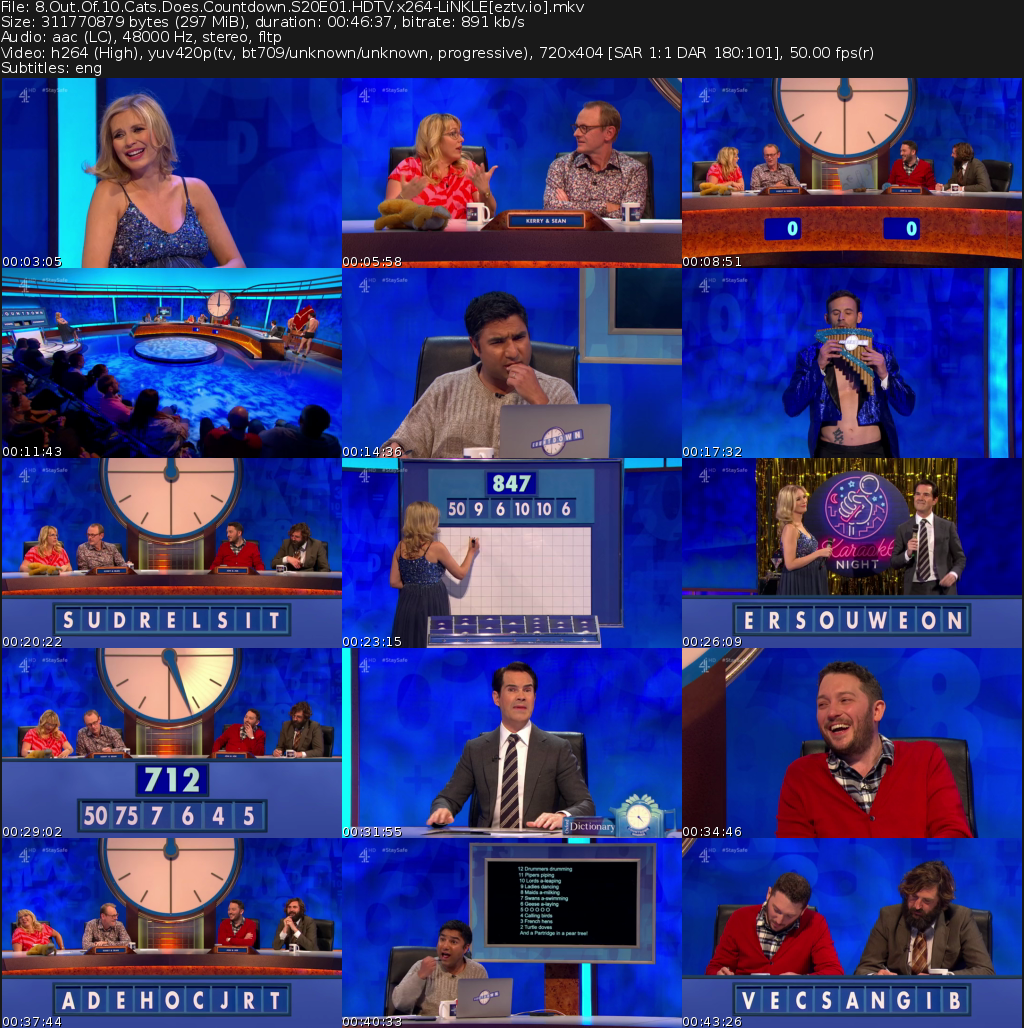 8 Out of 10 Cats Does Countdown Movie