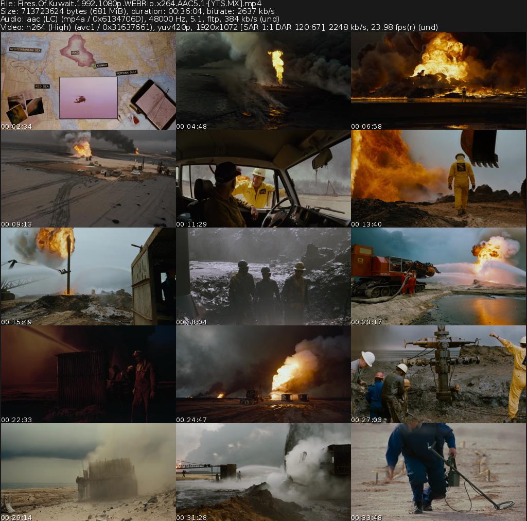 Fires of Kuwait Movie
