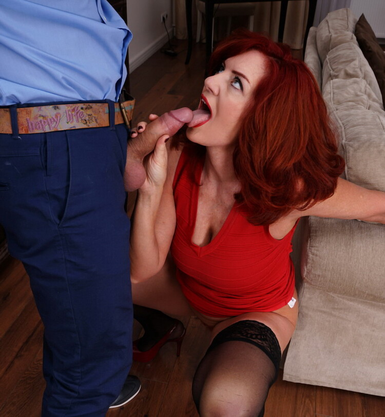 Andi James - Redhead MILF getting a crempie! (Mature.nl/Mature.eu) FullHD 1080p