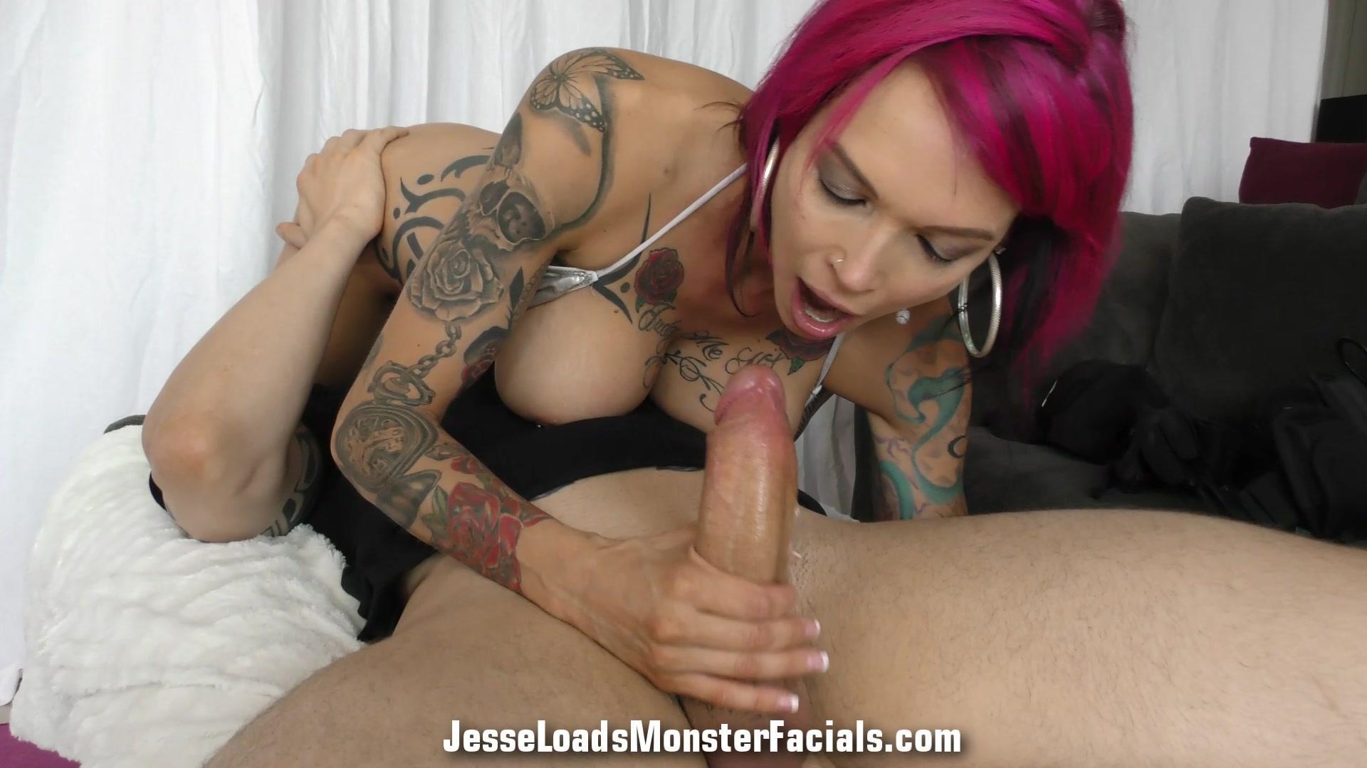 Jesse Loads Monster Facials – Anna Bell Peaks