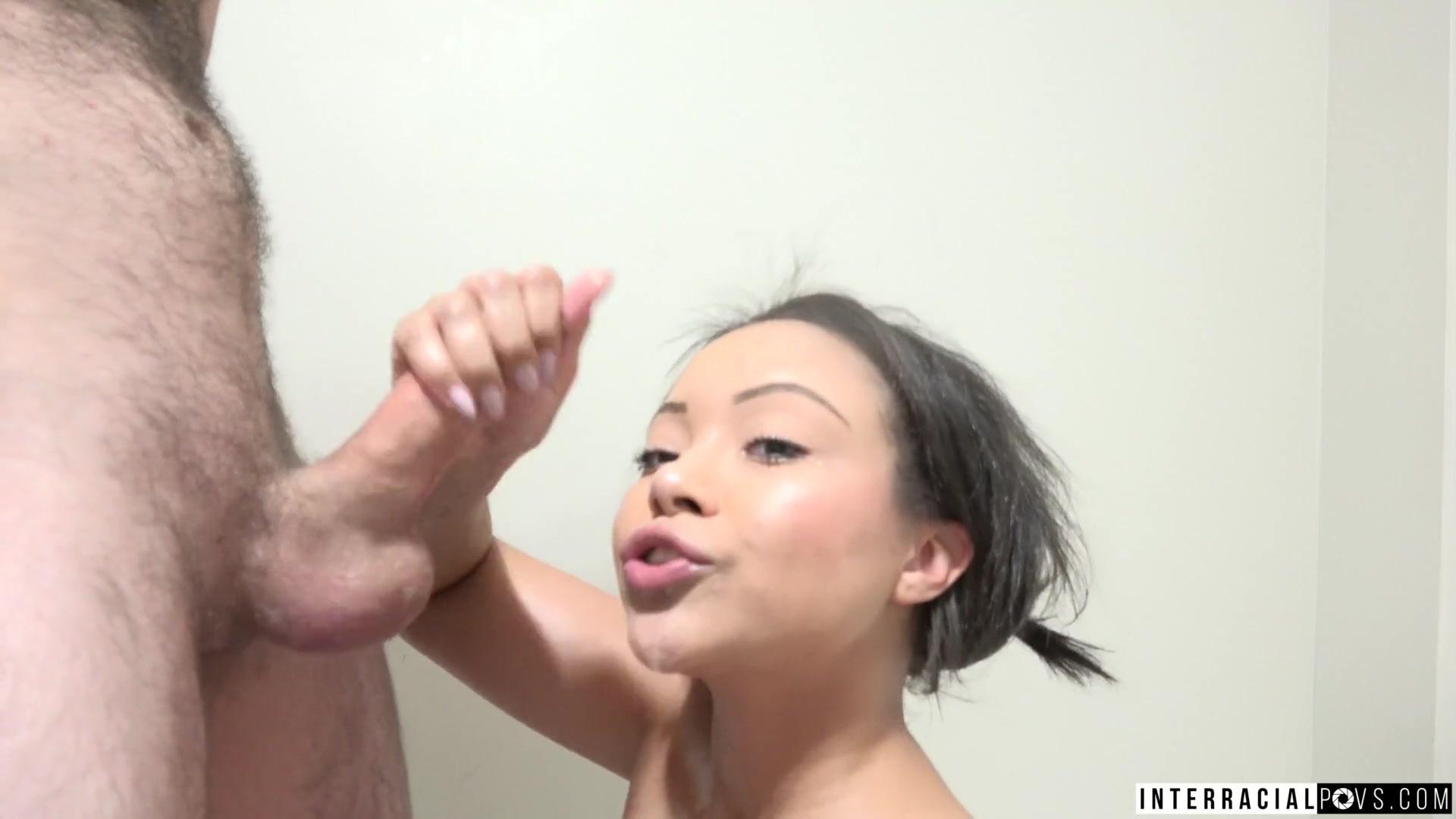 Interracial POV S – Adriana Maya
