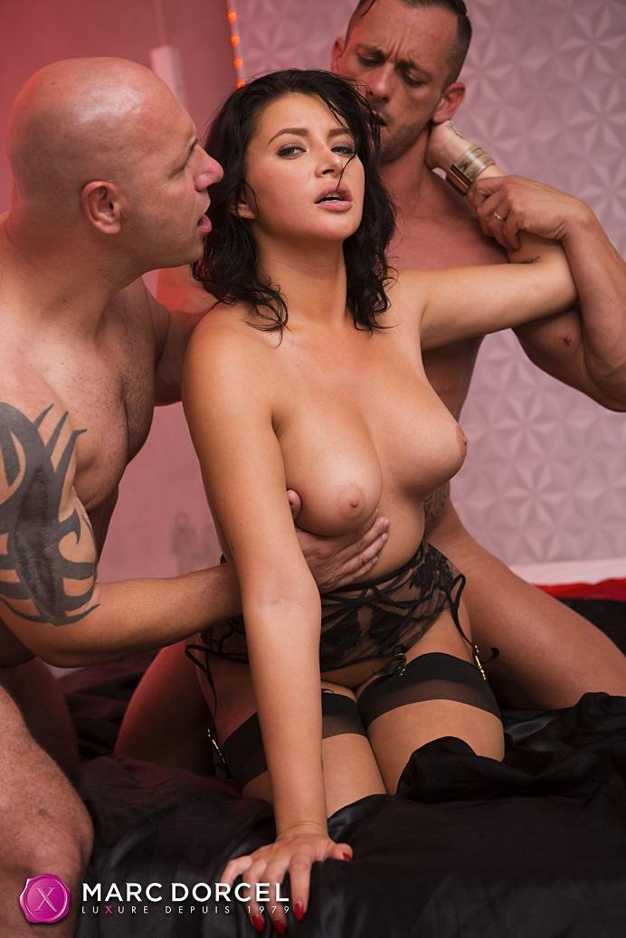 Anna Polina - Hardcore Threesome With The Bourgeois Anna Polina (FullHD 1080p) - DorcelClub - [2020]